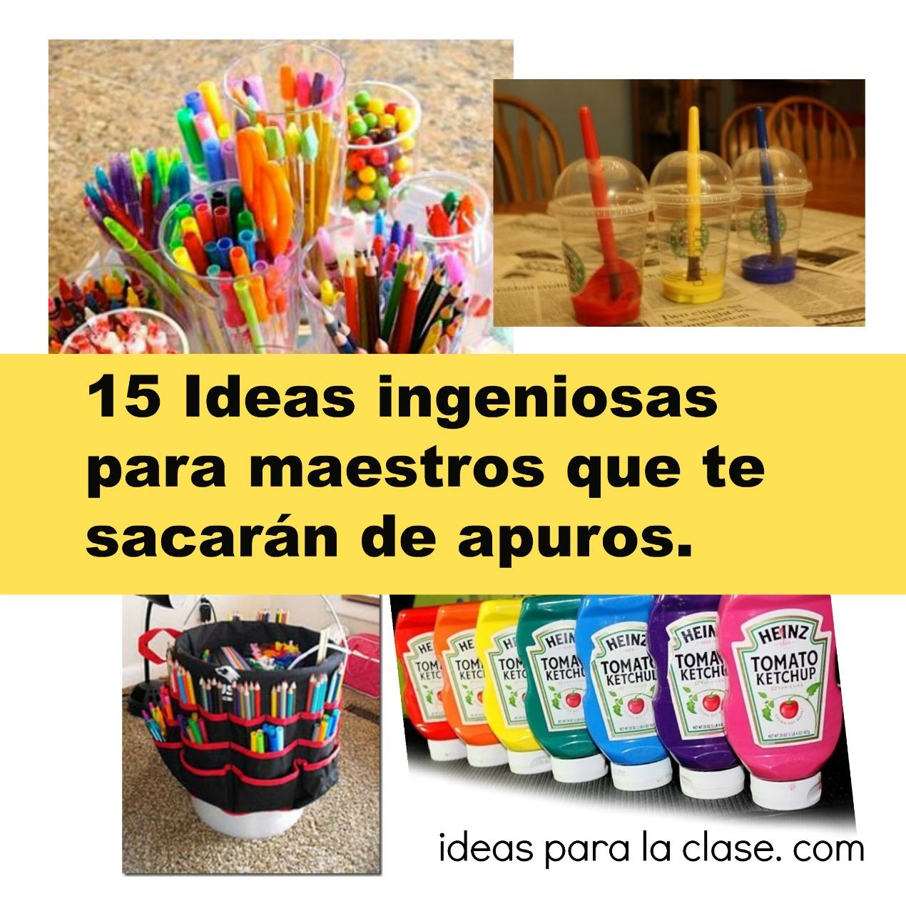 15 ideas ingeniosas para maestros   u2013 ideas para la clase